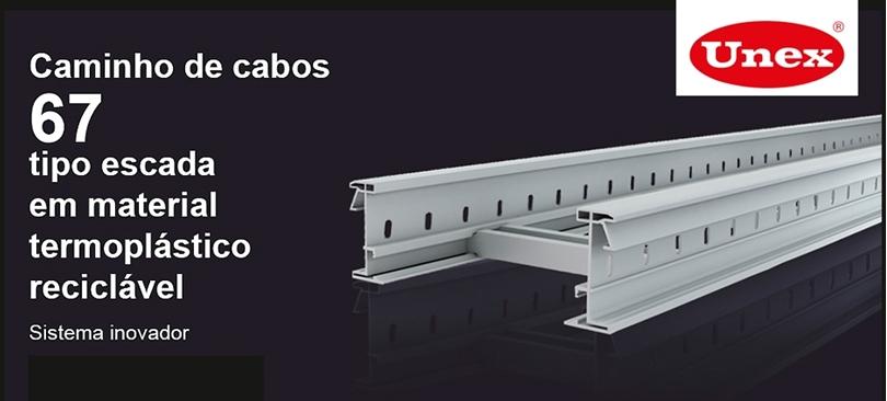 Caminho de Cabos 67 Isolante Tipo Escada da UNEX