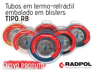 A nova opção para Tubos Termo-Retrátil  da Radpol