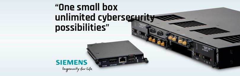 Nova plataforma para aplicações industriais de cibersegurança da Siemens