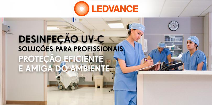 Os UV-C da Ledvance na luta contra a propagação da pandemia COVID 19