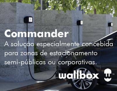 Commander - A solução empresarial da WallBox