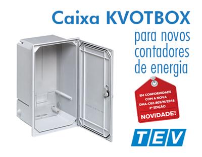 Caixa KVOTBOX da TEV2